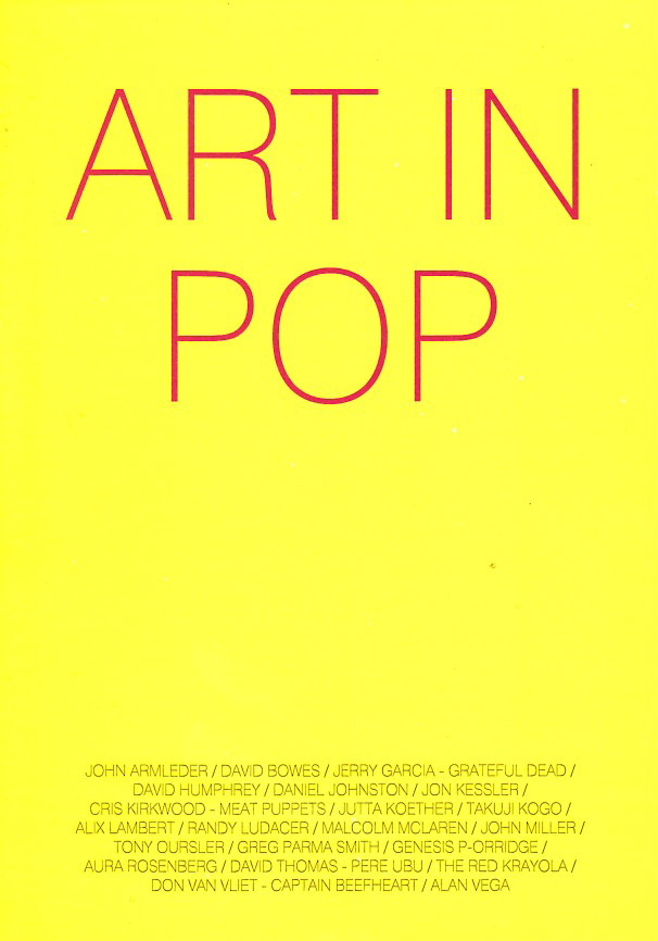 Flyer Exposition Art In Pop