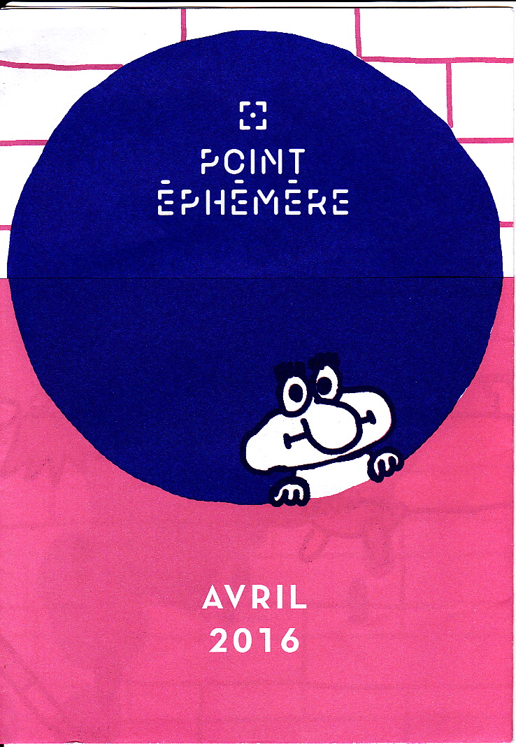 Programme Point Ephemere avril 2016