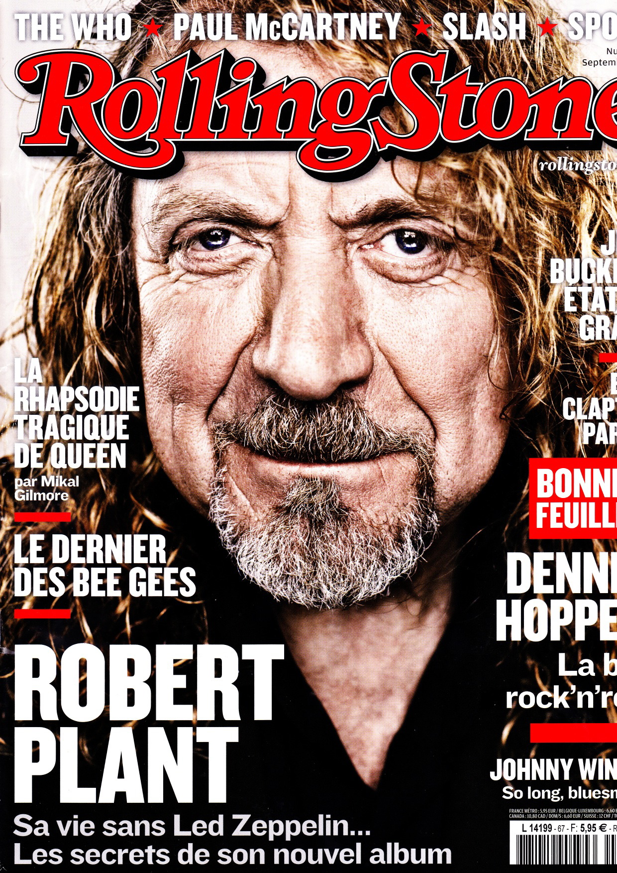 Rolling Stone #67 septembre 2014