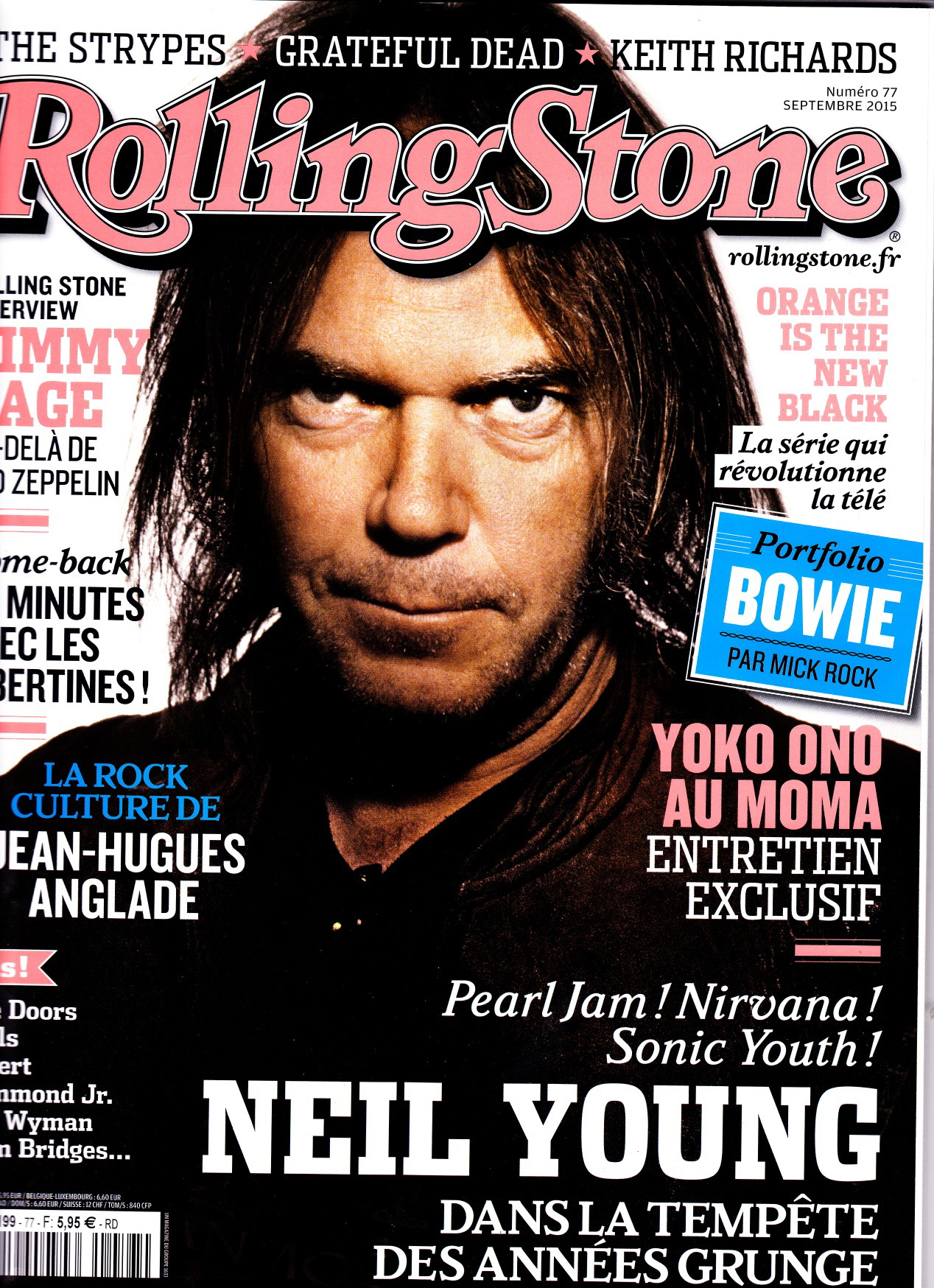 Rolling Stone #77, septembre 2015