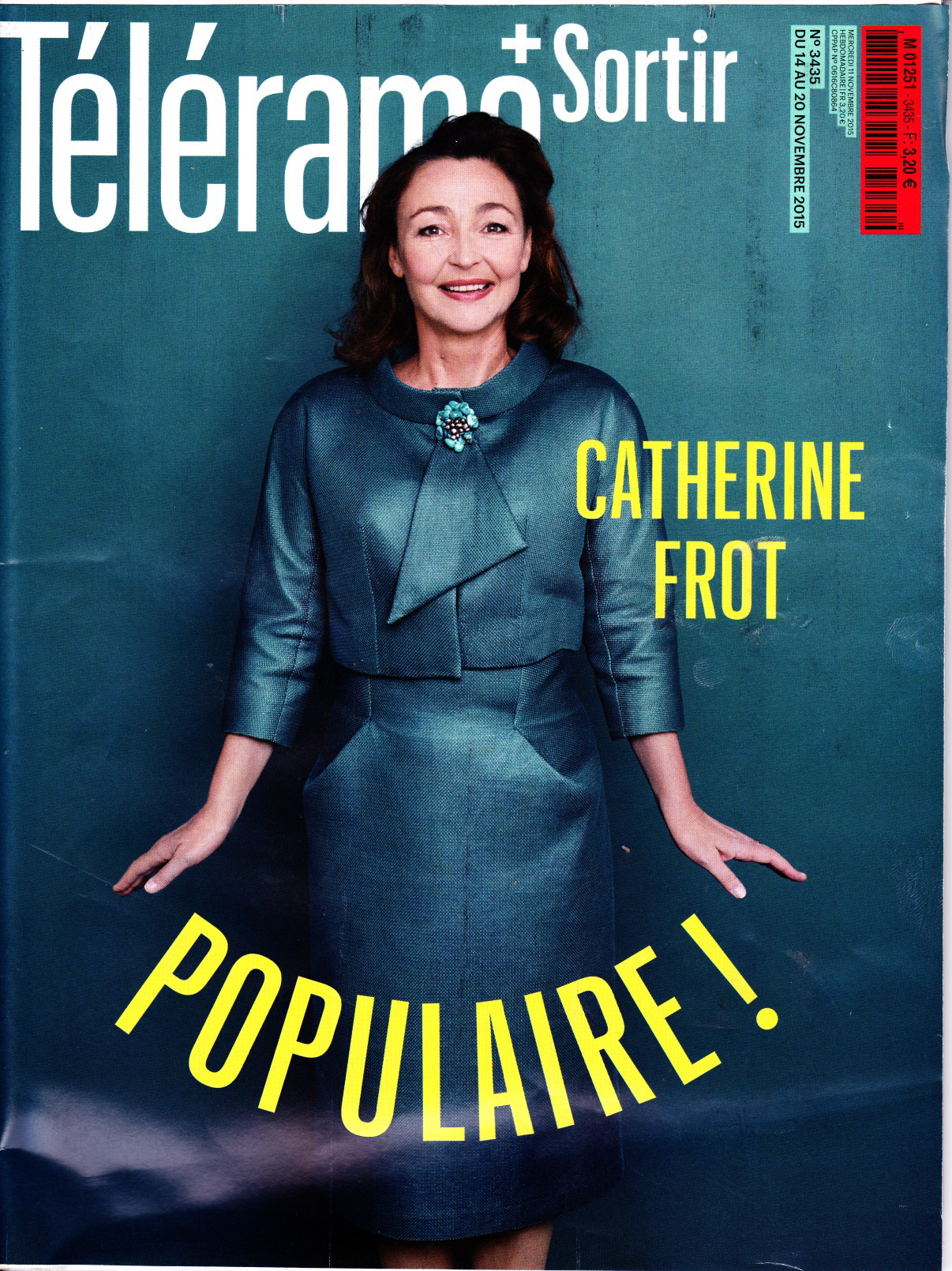 Telerama #3435 novembre 2015 chronique black record
