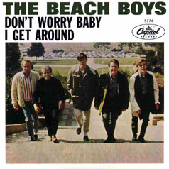 Beach Boys, single Don't Worry Baby