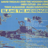 Blame The Messenger UK bleu