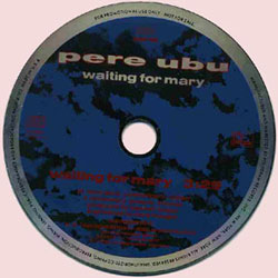 Promo cd Waiting For Mary
