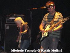 Michele Temple & Keith Moliné à Lyon