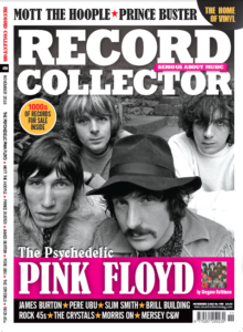 couverture du n° de novembre 2016 de Record Collector
